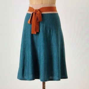 Girls from Savoy Color Blocked Sweater Skirt